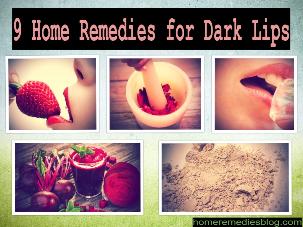 9 Home Remedies For Dark Lips