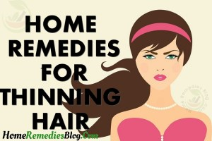10 Proven Home Remedies Solutions For Thinning Hair