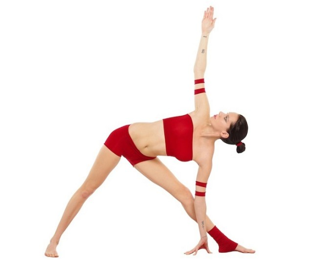Trikonasana Yoga Asana -Nina Mel