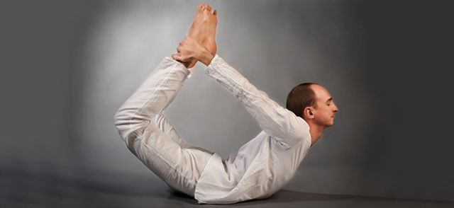 Bow Pose - Dhanurasana Art of Living