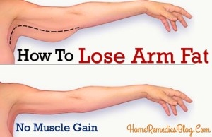 How to Lose Arm Fat Fast at Home