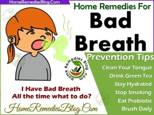 Most Effective Home Remedies For Bad Breath Treatment