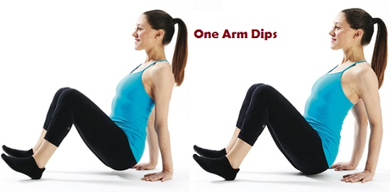 Simple Triceps Dips