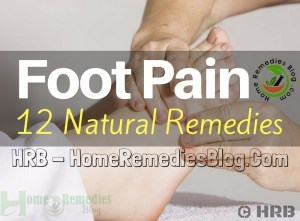 Top 12 Foot Pain Home Remedies For Quick Relief