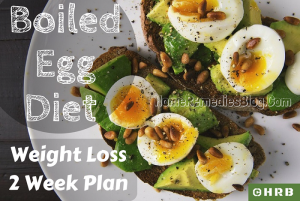 2 Week Boiled Egg Diet Plan for Weight Loss