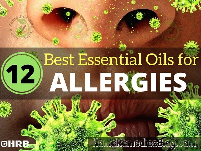 12 Best Essential Oils For Allergies