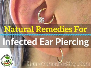13 Proven Natural Treatments for Infected Ear Piercing