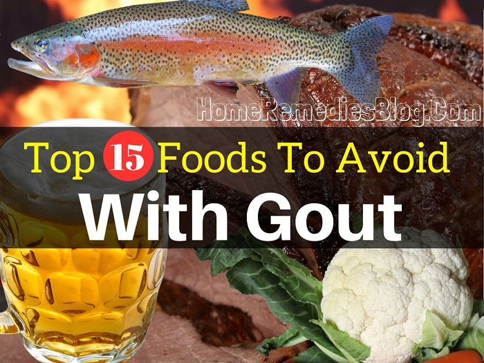 Top 15 Foods to Avoid With Gout