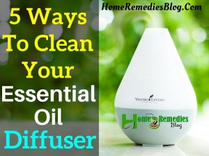 5 Ways to Clean Your Essential Oil Diffuser (DIY)