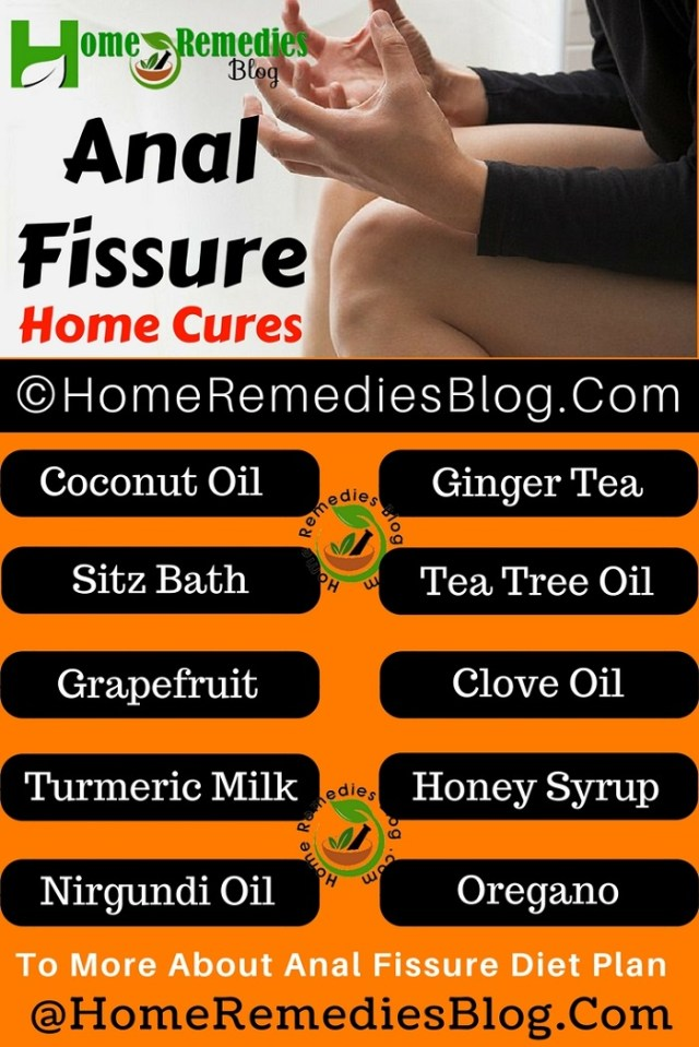 Anal Fissure Home Remedies