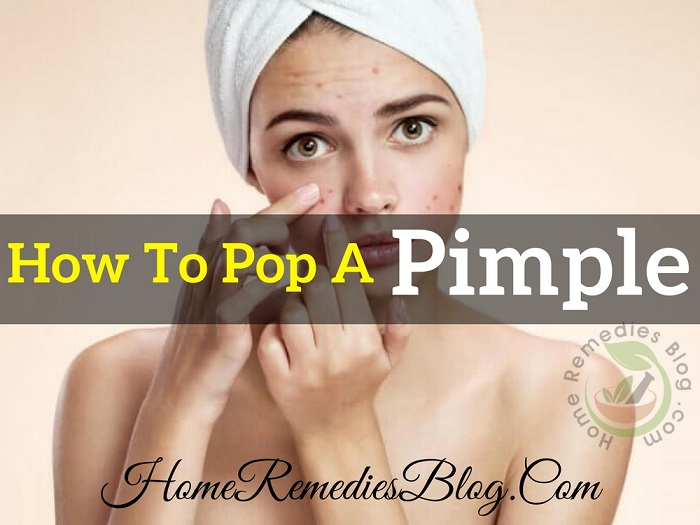 How To Pop a Pimple Easily (Complete Guide)