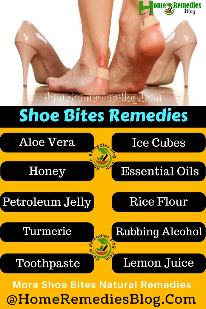 Shoe Bites Home Treatment Infographics