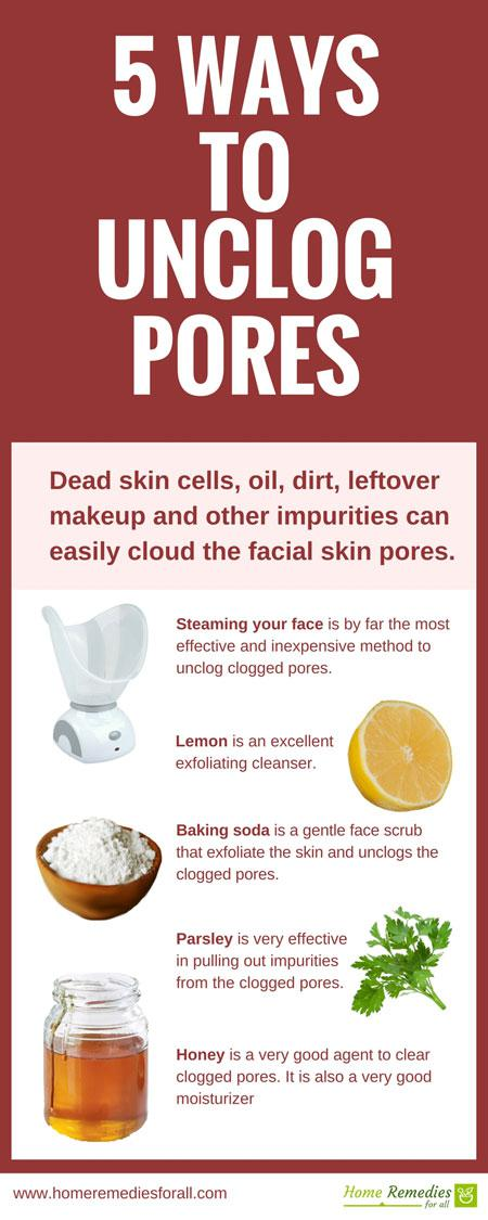 5 Ways To Unclog Your Clogged Pores
