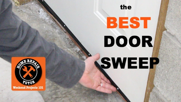 Front Door Weather Sweep