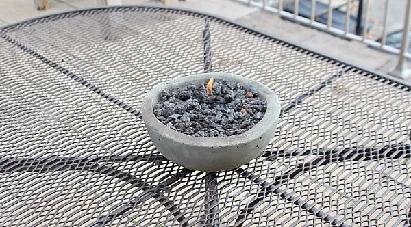 diy gel tabletop fire pit lifehacker home repair tutor concrete firepit