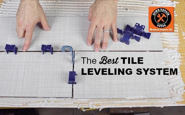 tuscan tile leveling system