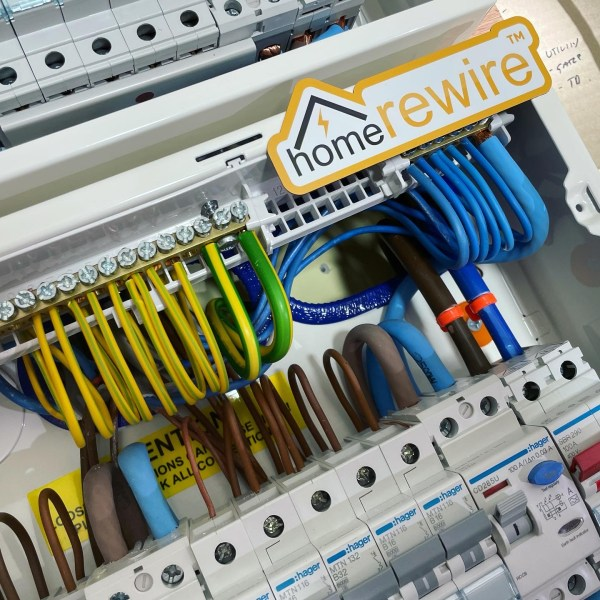 Electrical Rewiring Fusebox Image