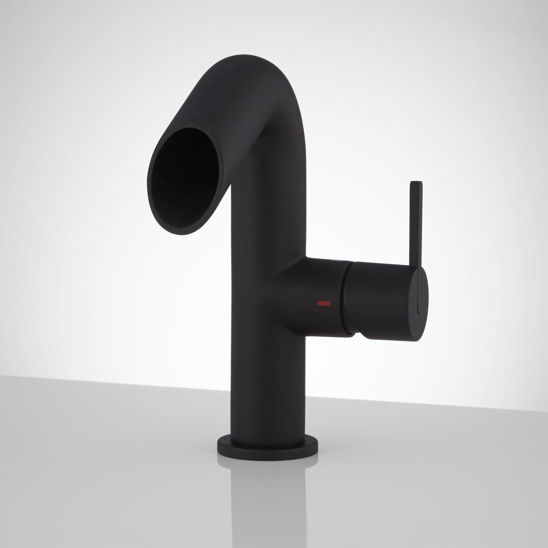 moen black bathroom faucet single hole