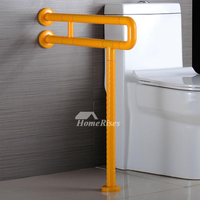 Designer Wall Mount White Painting Grab Bars For Toilet