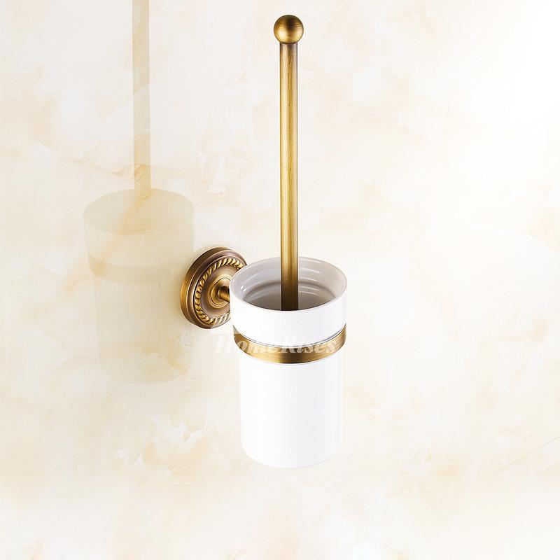 Best 6-Piece Modern Bathroom Accessories Set Gold
