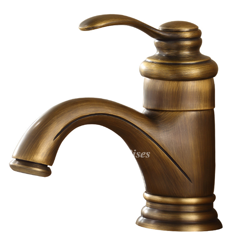brushed gold bathroom faucet single hole gold small antique