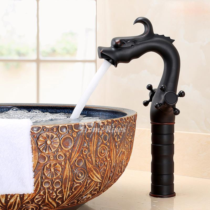 Matte Black Bathroom Faucet Ccenterset Oil Rubbed Bronze 2