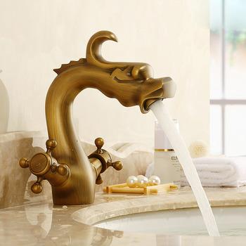 antique brass bathroom faucet vintage