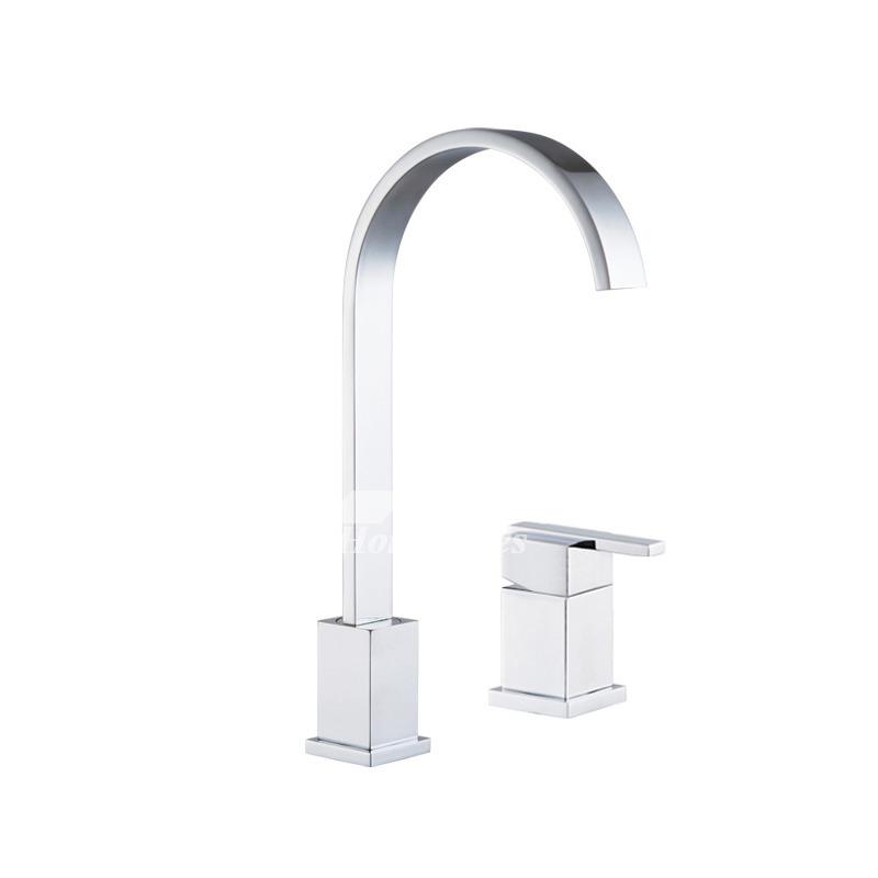 widespread bathroom faucet single handle 2 hole brass gooseneck