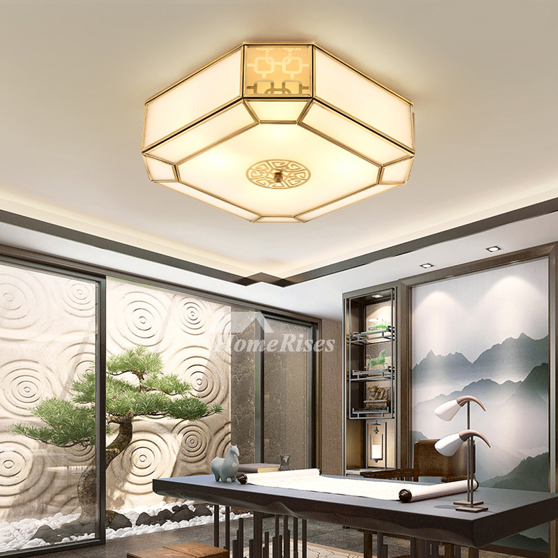 Square Contemporary Ceiling Lights Kitchen Led Flush Mount Install Bedroom Ideas Art Deco For Sale