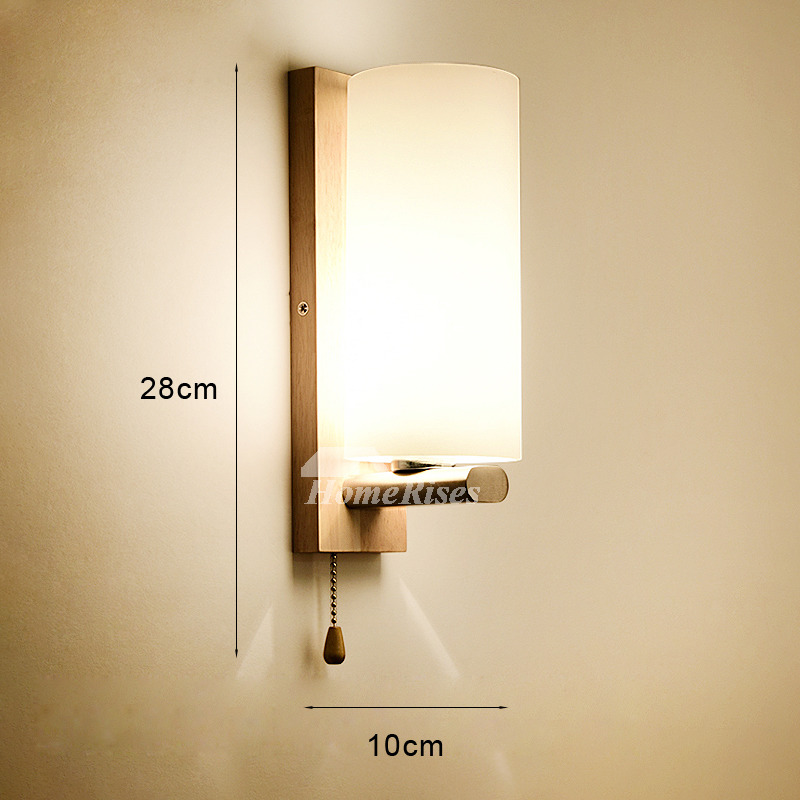 art deco modern wall light solid wood bedroom bedside creative staircase antlers reading wall sconce