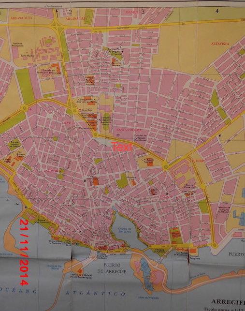 Fig. 19 town map Arrecife copy