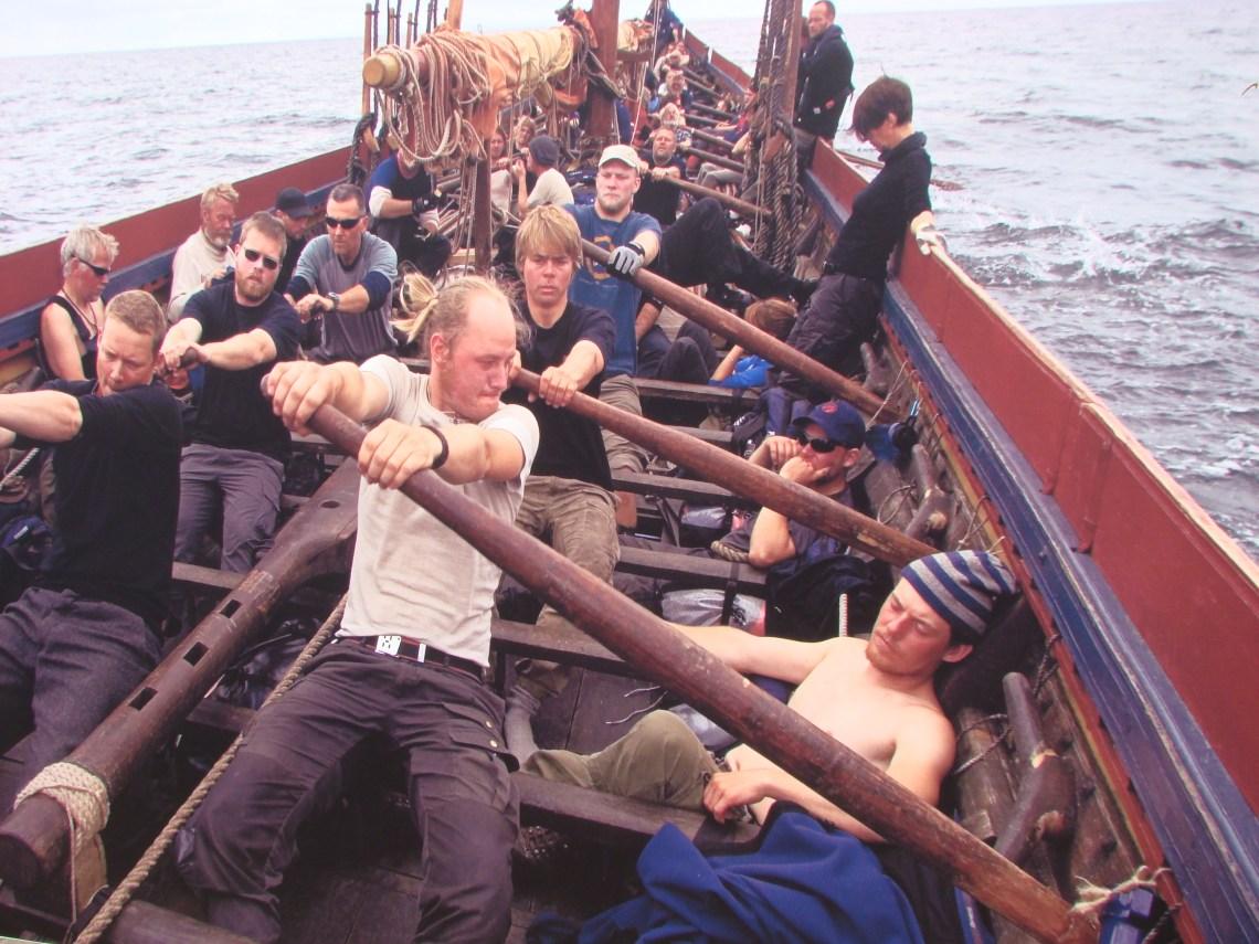 Fig. 6. Longship rowers
