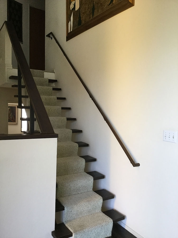 Staircase Railing Transfer Pole   Staircase Side Railing Designs   Luxury Railing   Living Room   Modern Style   Beautiful   Stairway