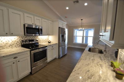 Wide Open, Bright Open Kitchen - Homes by Handle, Sebring Builder