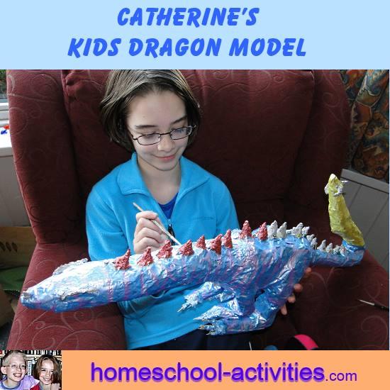 Paper Mache Projects Ideas Kids Model Dragon