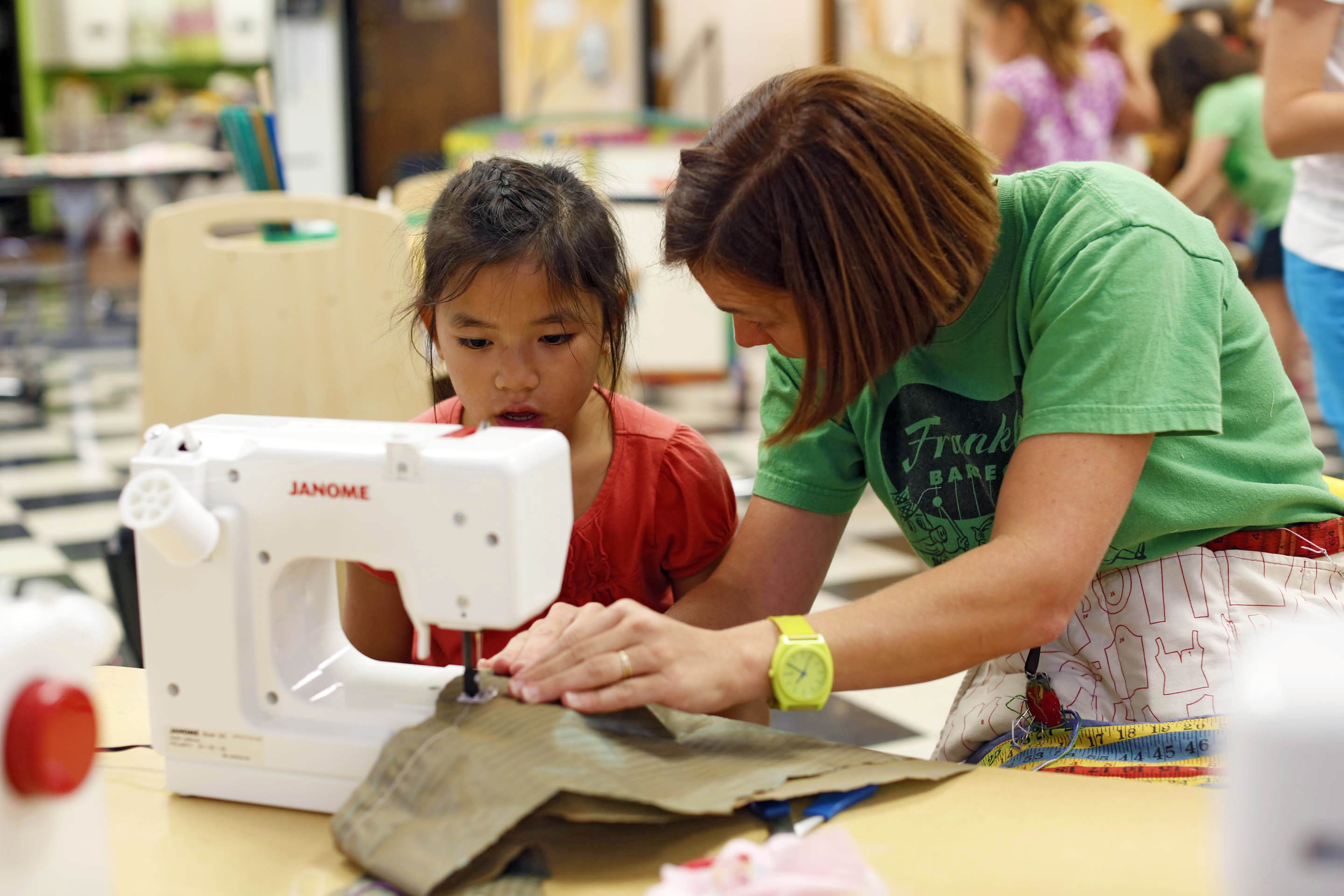 Sewing In The Curriculum