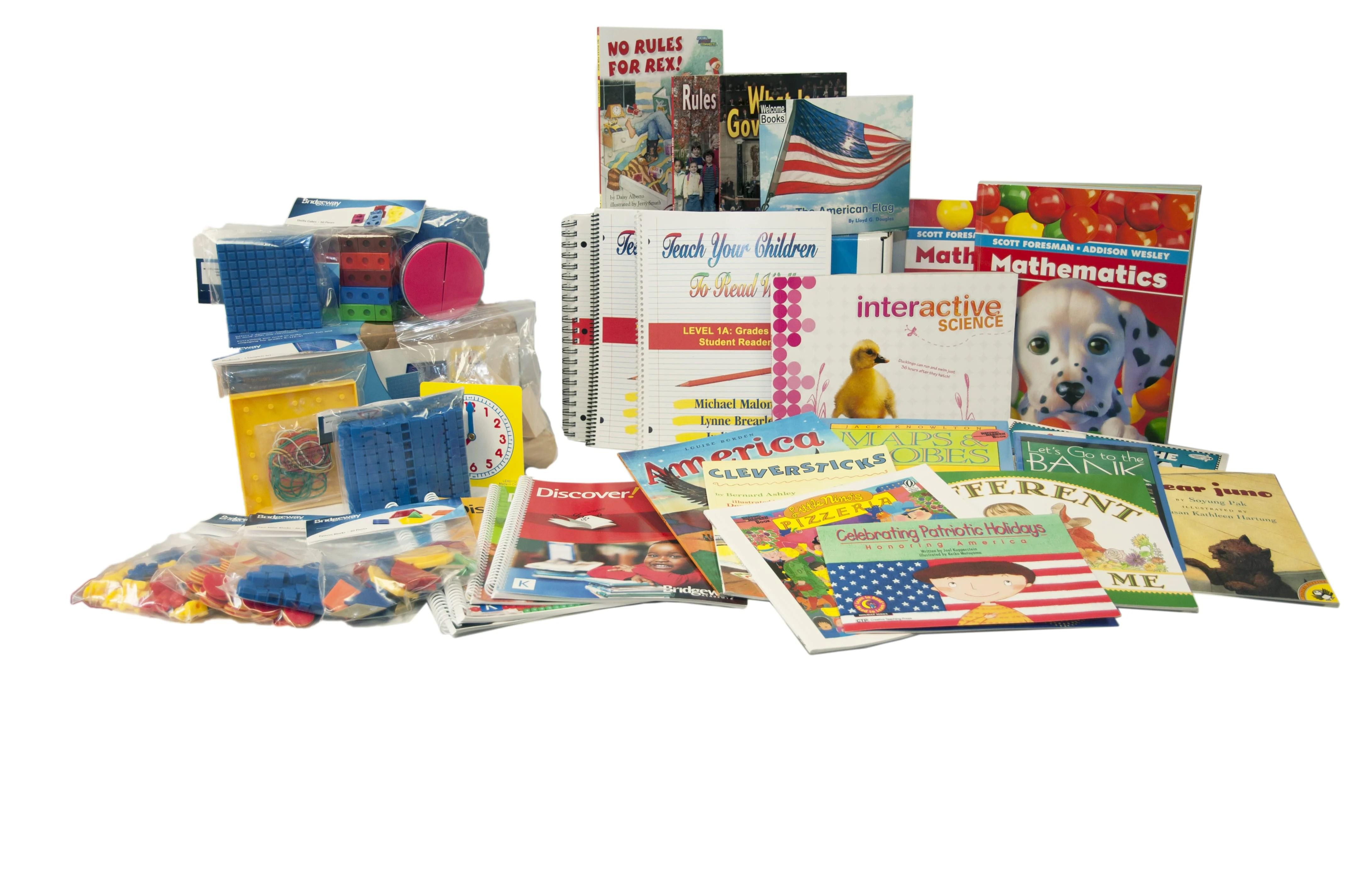 Choose Your Kindergarten Homeschool Curriculum