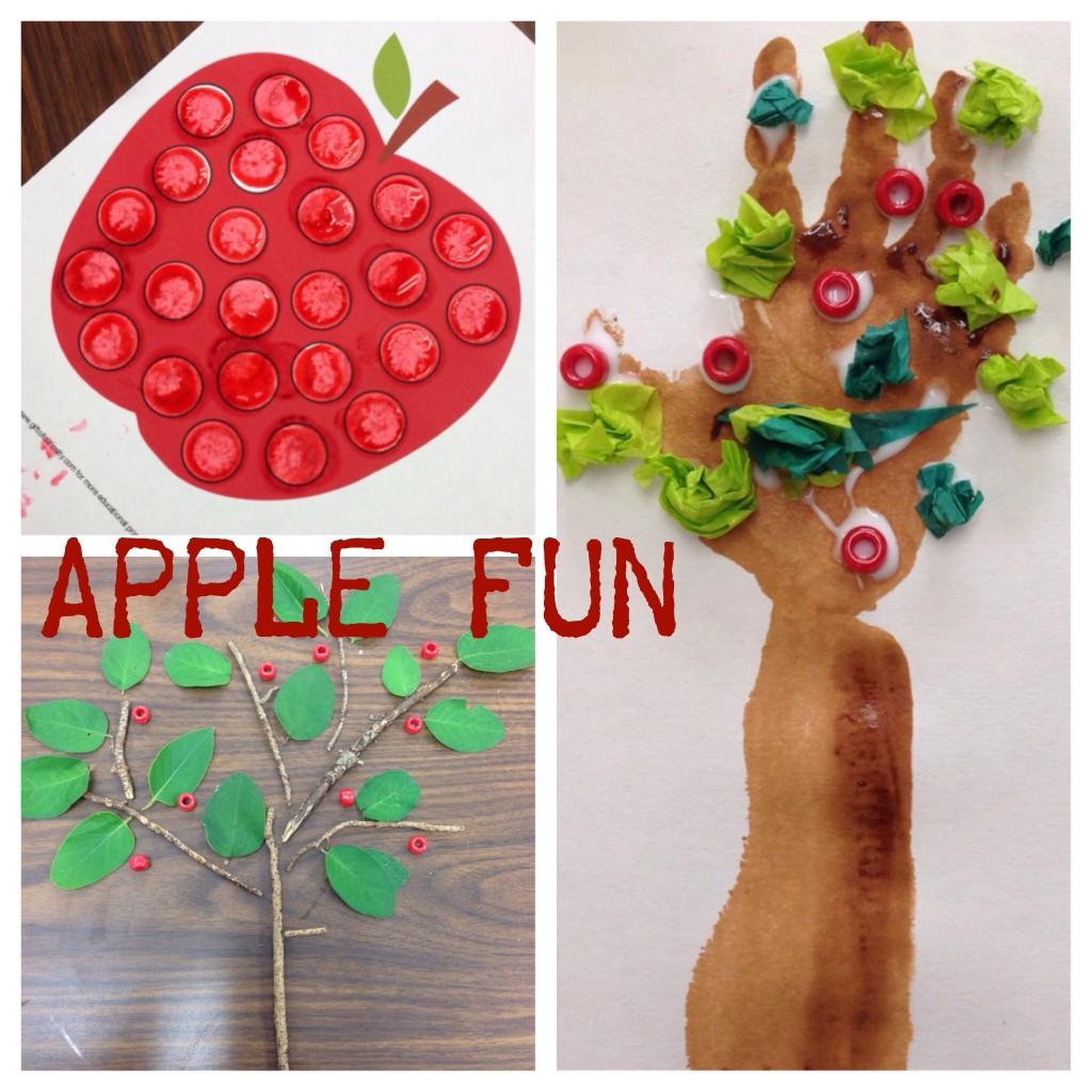 Preschool Apple Activities