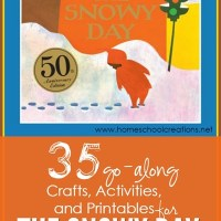 35 Crafts, Activities, and Printables for The Snowy Day