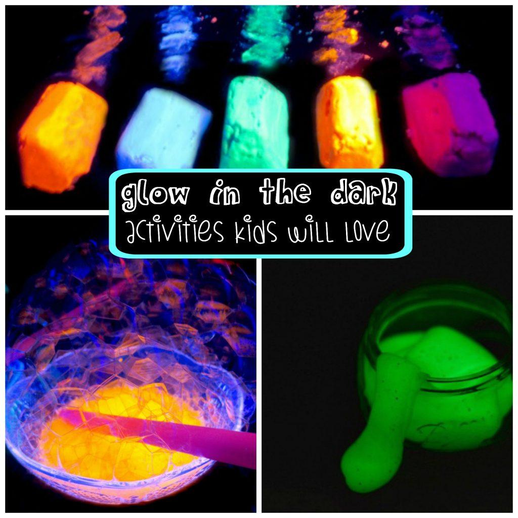 Pool Noodle Caterpillars And Glow In The Dark Activities