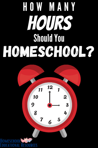 How long does homeschooling take