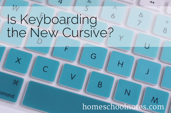 Is Keyboarding the New Cursive?
