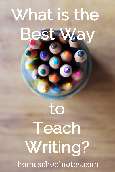 What is Best Way to Teach Writing?