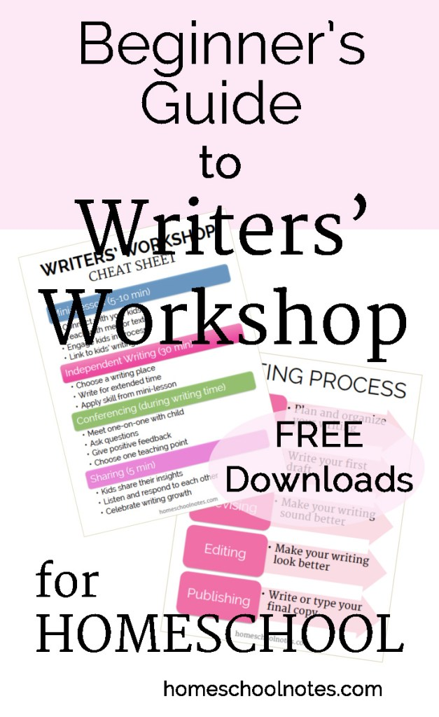 Beginner's Guide to Writers' Workshop for Homeschool