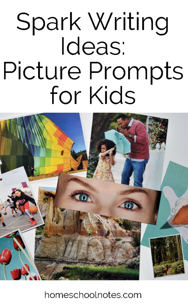 Picture Prompts For Kids : picture, prompts, Spark, Writing, Ideas, Picture, Prompts, Homeschool, Notes