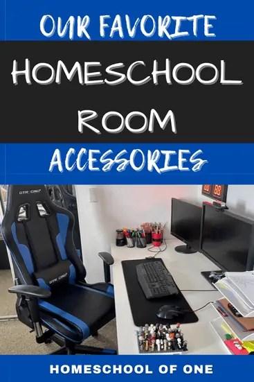 Favorite homeschool room accessories