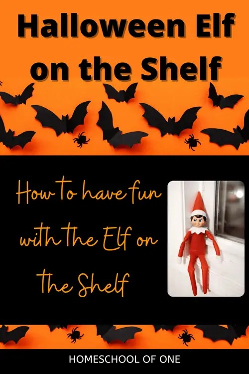 Halloween Elf on the Shelf, ideas of how to bring back the Halloween Elf