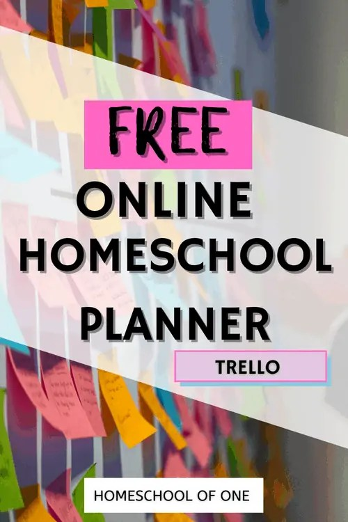 The best free homeschool schedule with Trello