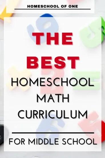 the best math curriculum for homeschool grades k-8