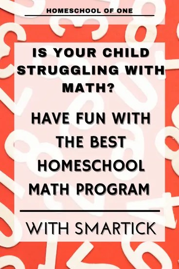 Is your child struggling with Math? Have fun with the best homeschool math program, Smartick